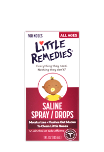 Little Remedies® Saline Spray/Drops