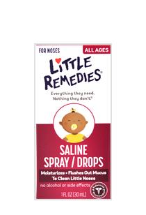 Little Remedies® for Saline Spray/Drops