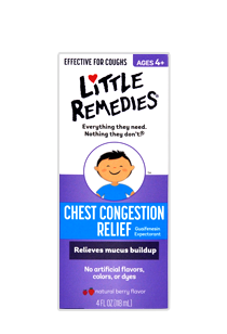 Little Remedies© Chest Congestion Relief