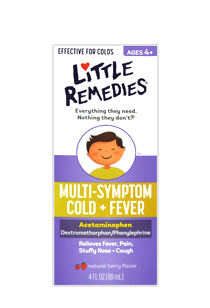Little Remedies© Multi-Symptom Cold + Fever