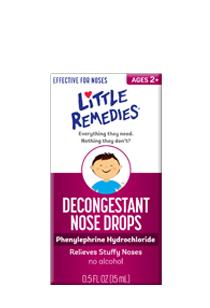 Little Remedies© Decongestant Nose Drops