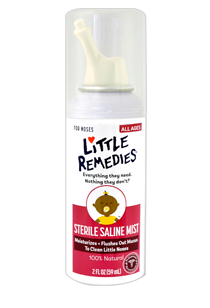 Little Remedies© Sterile Saline Nasal Mist