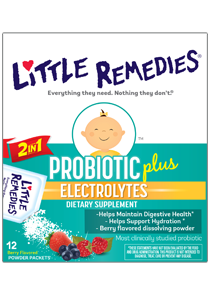 Little Remedies© Probiotic plus Electrolytes