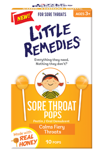 Little Remedies© Sore Throat Pops