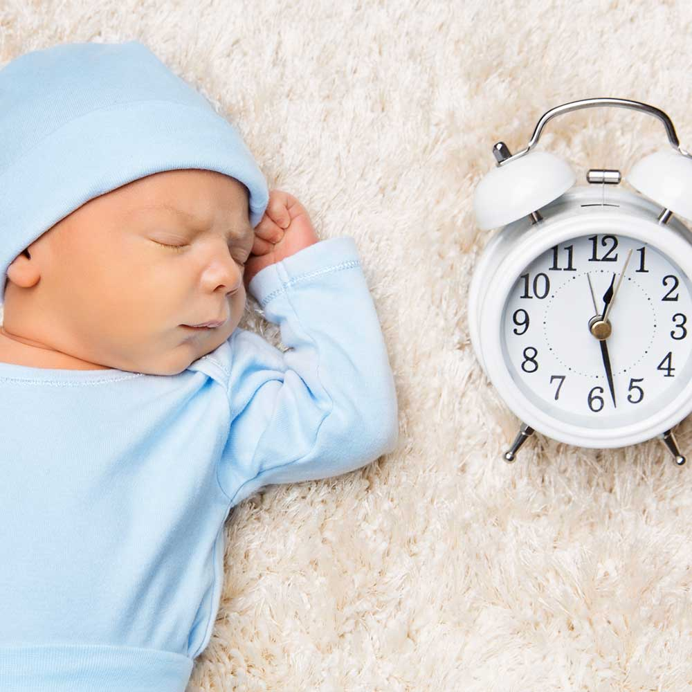 New Year's Resolution: Baby Sleep Training & Your Baby's Internal Clock